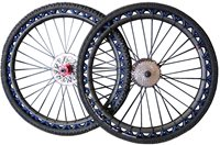 "SLING SHOT 26"" MTB Carbon wheel set"